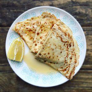 Lemon and Honey Crepe