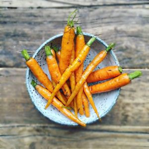 Honeyed Caraway Carrots