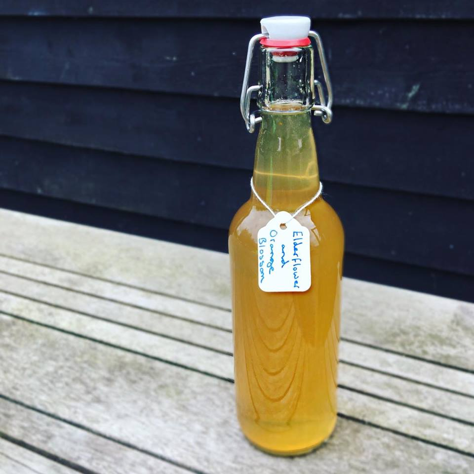 Elderflower and Orange Blossom Cordial